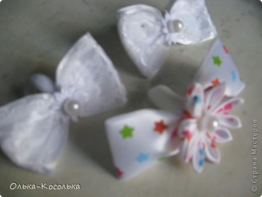 Вот такие ободочки и повязочка...По сравнению с прошлыми моими попытками в канзашах - это самые приличные.))) фото 4