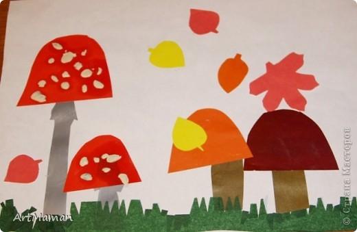 Вот такие грибочки у нас с дочей (2 года) выросли. фото 1