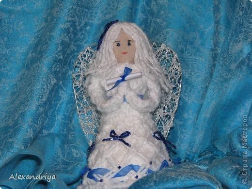 Макрамешные Ангелочки.  фото 1