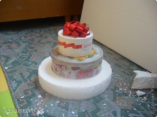 Вот такой тортик у меня получился. Надо еще добавить немного зелени. фото 3