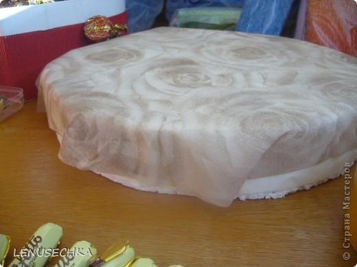 Вот такой тортик у меня получился. Надо еще добавить немного зелени. фото 6
