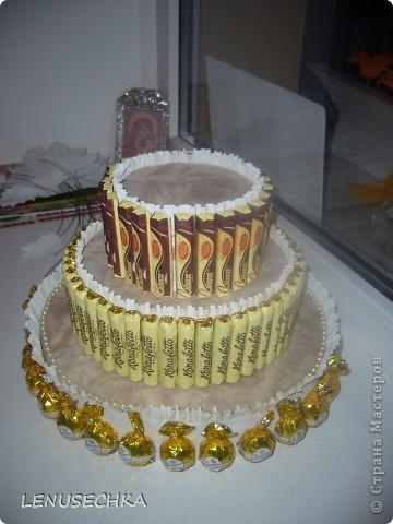 Вот такой тортик у меня получился. Надо еще добавить немного зелени. фото 22
