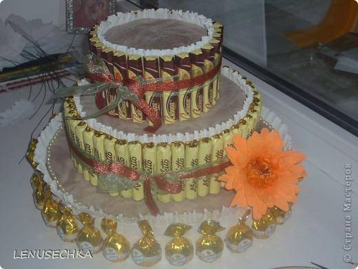 Вот такой тортик у меня получился. Надо еще добавить немного зелени. фото 23