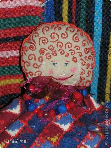 Куклу-Матрёну я сшила в подарок своей любимой мамочке ...