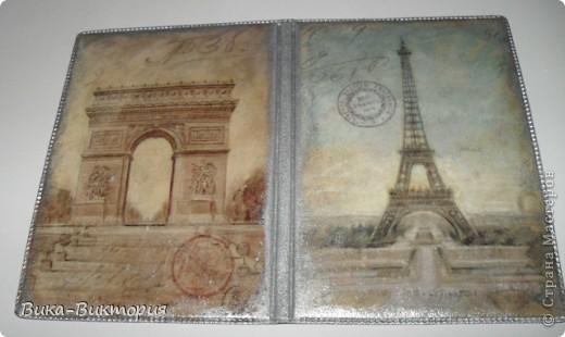Обложка на паспорт, лицевая сторона.  фото 3