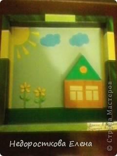 Педагоги, занимающиеся с детьми декоративно-прикладным творчеством, хорошо знают как нужны рамочки для детских работ. Хочу поделиться опытом.Я со своими ребятами из кружка использую в качестве рамочек конфетные коробки-доступный материал. фото 9