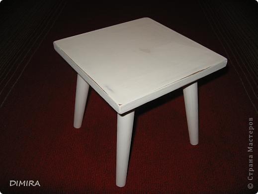 Вот такой стульчик для доченьки у меня получился. фото 2