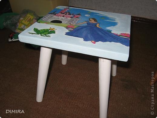 Вот такой стульчик для доченьки у меня получился. фото 7