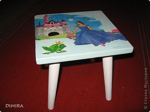 Вот такой стульчик для доченьки у меня получился. фото 1