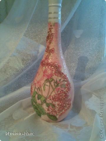 Бутылочка сделана в подарок. Понравилась))) фото 1