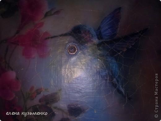 распечатка, дорисовка, 2-х шаговый кракле stamperia, стеклянные камушки и стрелки покрашены в тон рамки. аквалак бесцветный. фото 5
