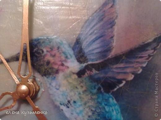 распечатка, дорисовка, 2-х шаговый кракле stamperia, стеклянные камушки и стрелки покрашены в тон рамки. аквалак бесцветный. фото 3