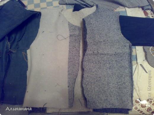 Джинсовая курточка шилась на машинке Джаноме самой простой, которая выполняет строчку и зигзаг фото 11