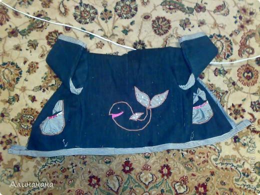 Джинсовая курточка шилась на машинке Джаноме самой простой, которая выполняет строчку и зигзаг фото 12