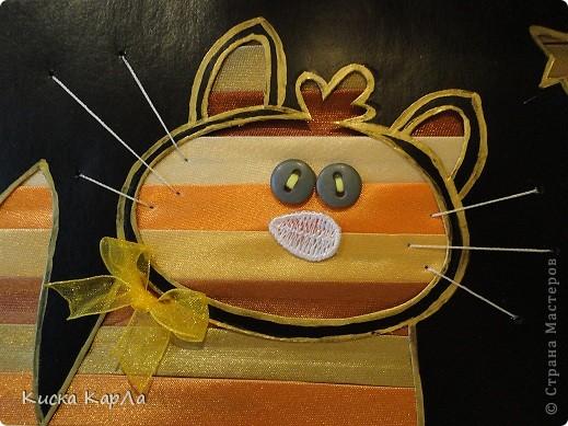 ... кот !!! Я очень люблю котов и мой старший брат тоже, а у него сегодня 11 октября - День рождения !!! Этот рыжий кот - подарок ему от меня. фото 3