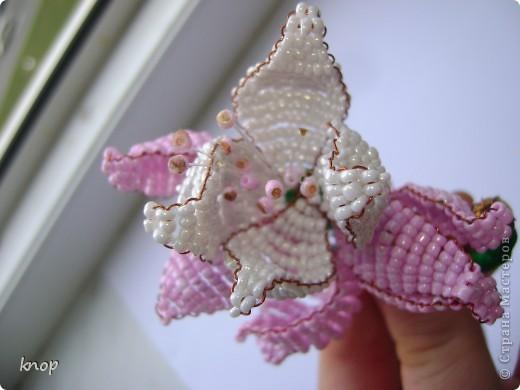 бисерные цветы фото 2