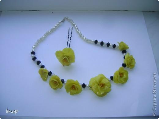 ожерелье и шпилька фото 1