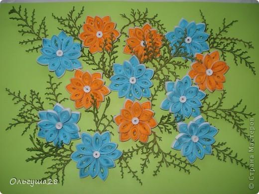 Оранжево-голубое настроение фото 2
