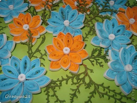 Оранжево-голубое настроение фото 3