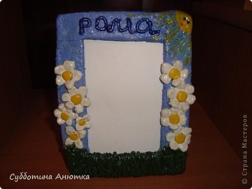 Рамка для моего сынульки. фото 2
