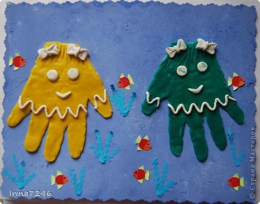 Ладошки-осьминожки