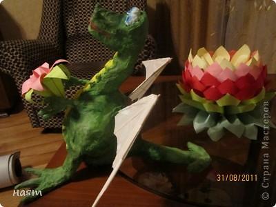 вот такое чудо поселилось у меня на столе, задумка подсмотрена у Светлячка и К,http://stranamasterov.ru/node/200592 фото 2