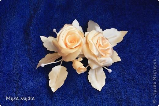 Вариант бронзовых роз, более нежный.