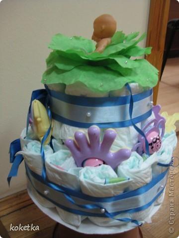Этот тортик попросил сделать брат, так как он должен был идти на кристины к своим знакомым. фото 5