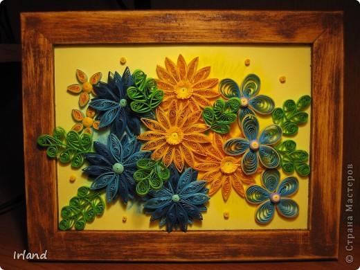 Задача стояла - сделать подарок другу =) Спасибо http://blog.naver.com/paper6262/60112440530 за идею =)  Рамка была куплена в ЛеруаМерлен, покрашена. Результат покраски мне не понравился - краска плохо легла и я решила, была не была, взяла наждачку покрупнее, и начала стирать краску - в итоге результат таков =) фото 1