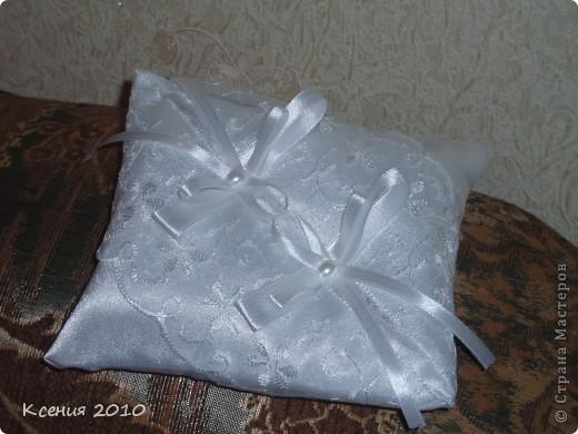 подушечки для  колец фото 3