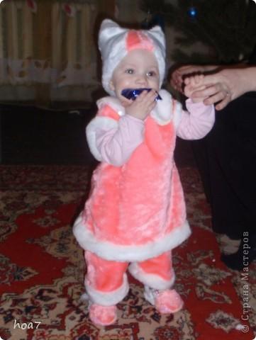 Хотелось и малявке праздничный костюм. Думала думала и придумала