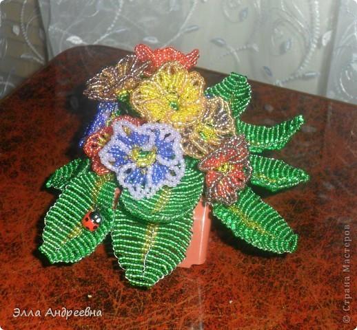 Вот такие цветочки получились... фото 1