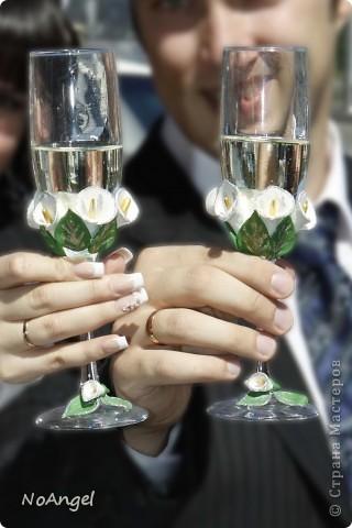 Все что я делала для своей и не только свадьбы))))) Итак: бокалы для битья фото 1