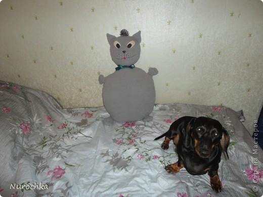 Киска-подушка фото 3