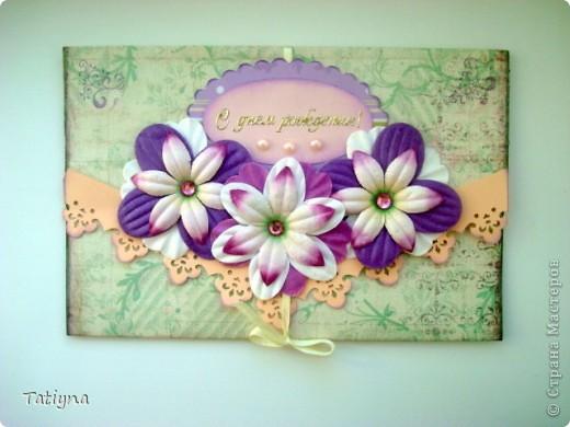 Сегодня я к вам с разными открыточками и конвертиками!!! фото 6