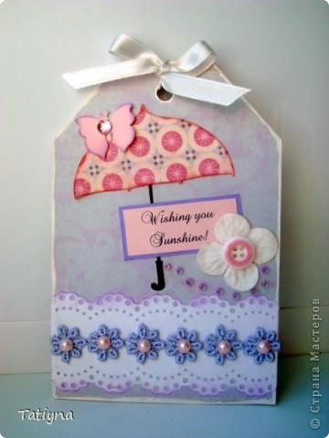 Сегодня я к вам с разными открыточками и конвертиками!!! фото 7