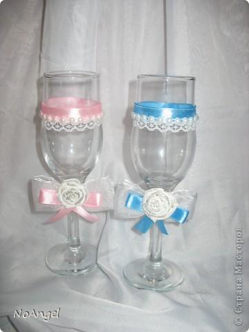 Все что я делала для своей и не только свадьбы))))) Итак: бокалы для битья фото 3