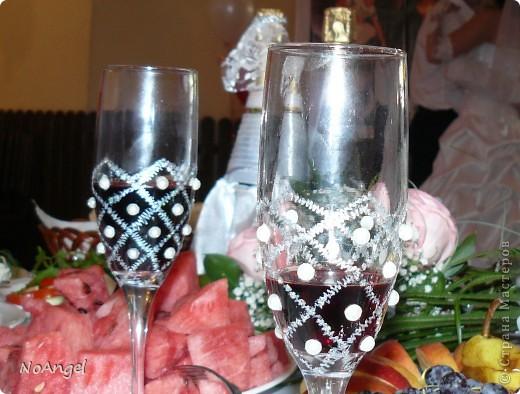 Все что я делала для своей и не только свадьбы))))) Итак: бокалы для битья фото 2