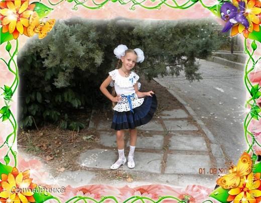 Блуза для доченьки фото 1