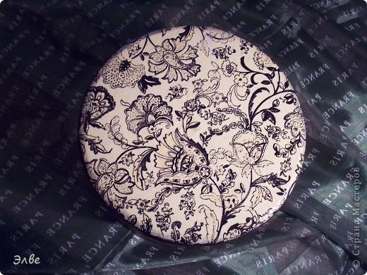 Шкатулки с Магнолией на чёрном, не делал только ленивый. Вот и я решила попробовать. фото 5