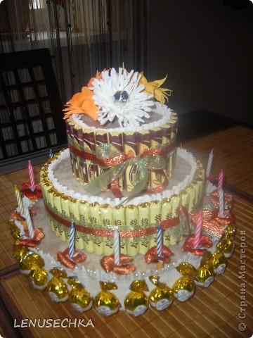 Вот такой тортик у меня получился. Надо еще добавить немного зелени. фото 35
