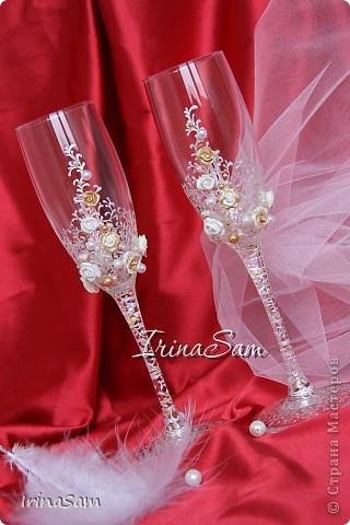 Мои новые свадебные бокалы фото 1