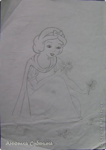 Принцесс я срисовывала с журналов моих племянниц) фото 4