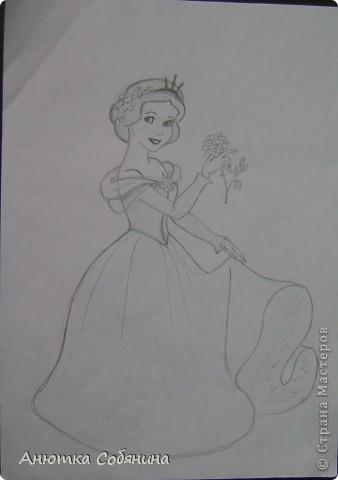 Принцесс я срисовывала с журналов моих племянниц) фото 3