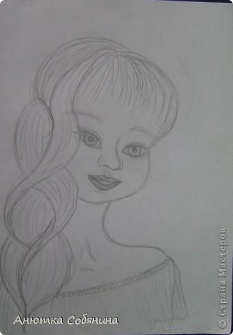 Вот эта серия состоит из рисунков карандашом. фото 12
