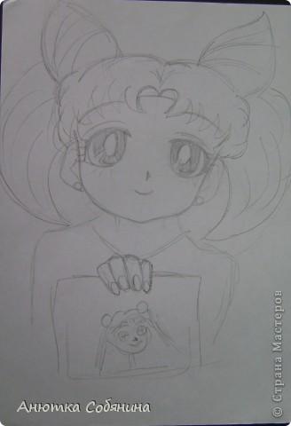 Вот эта серия состоит из рисунков карандашом. фото 10
