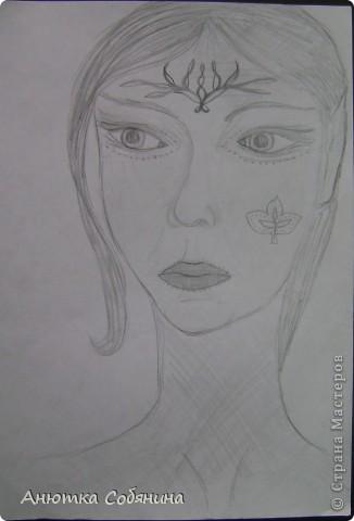 Вот эта серия состоит из рисунков карандашом. фото 13