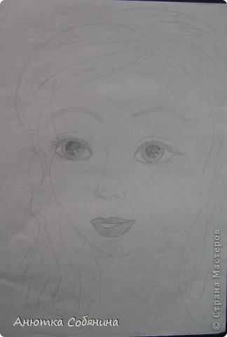 Вот эта серия состоит из рисунков карандашом. фото 6