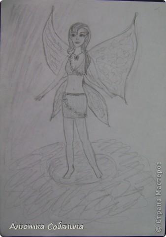 В этой серии я собрала простых девушек, эльфов и ангелов) фото 13