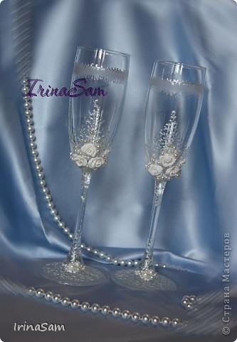 Мои новые свадебные бокалы фото 3